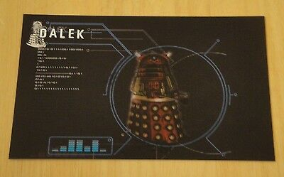 Doctor Who Printed Postcard ~ The Supreme Darlek ~ New