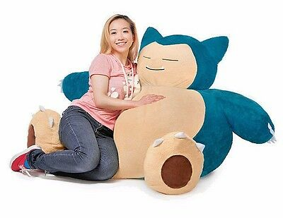 Snorlax Pokemon Bean Bag Chair New Rare Authentic Giant Official