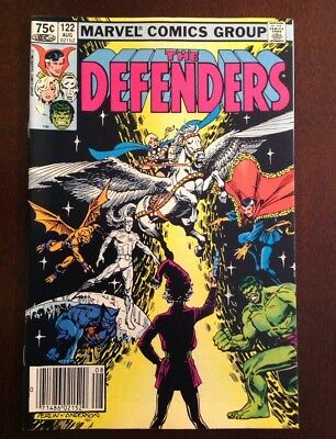 Defenders #122 High Grade Issue .75 Cents Canadian Price Variant / Edition