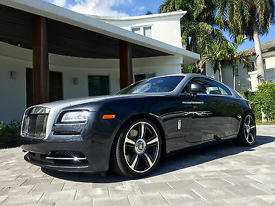 2015 Rolls-Royce Wraith Base Coupe 2-Door 2015 Used Turbo 6.6L V12 48V Automatic RWD Premium