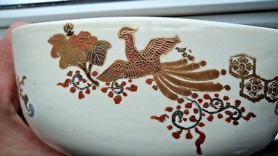 SUPERB JAPANESE MEIJI c1900+ SATSUMA SIGNED BOWL / DISH