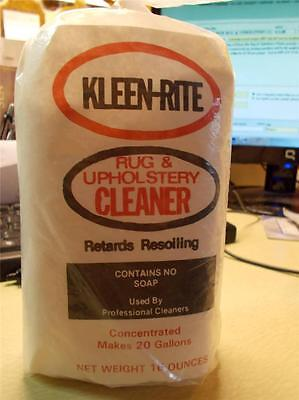 KLEEN-RITE Rug & Upholstery Cleaner Powder Commercial or Home