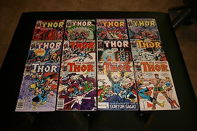Marvel Thor Lot of 125 Comics, Overall fine