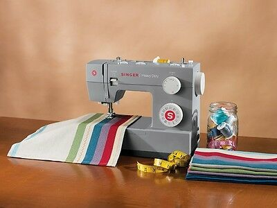 Industrial Sewing Machine Heavy Duty Quilting Arm Embroidery Upholstery Singer