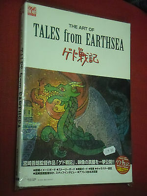 Illustration Book-The Art Of Tales From Earthsea-Perfect Guide In Giapponese