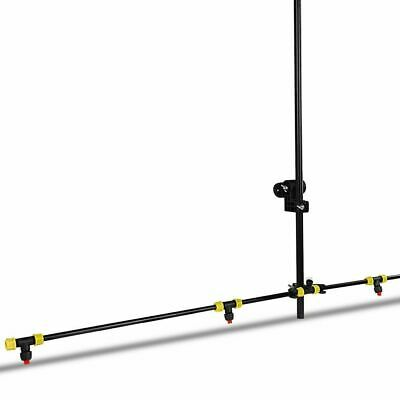 Giantz Weed Sprayer Boom Adjustable Angles Height ATV 4 Nozzles 151cm Pole Spray