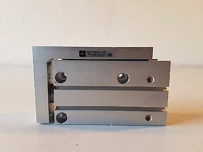 SMC Double Acting Compact Pneumatic Slide Table Cylinder - MXH20-40