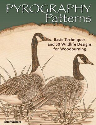 Pyrography Patterns by Sue Walters Book The Cheap Fast Free Post