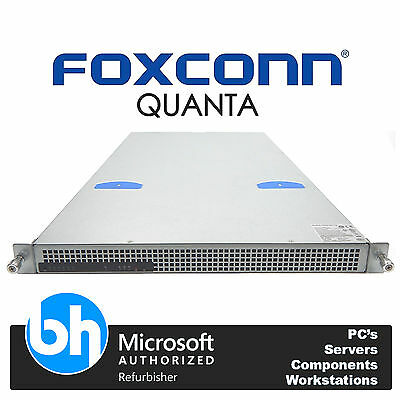 Cheap Rack 1U Quanta 2x Xeon Eight Core E5-2650 48GB RAM Cloud 10GB SFP Server