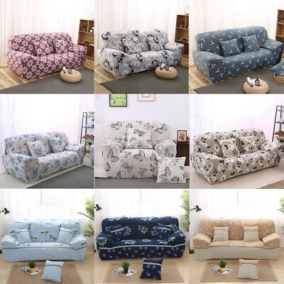 Stretch Fit Loveseat Sofa Cover Protector Lounge Couch Slipcover 1 2 3 Seater