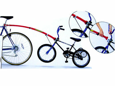 """Trail Gator Trailgator Kids Cycle Tow Bar for 12""""-20"""" Color Blue/Red"""