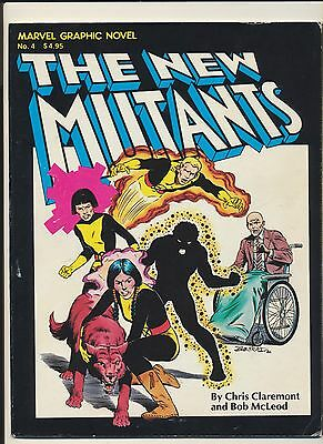Marvel Graphic Novel #4! 1st App New Mutants! SEE PICS AND SCANS! WOW! (1982)