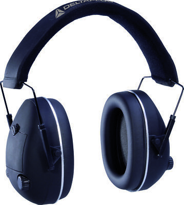 Delta Plus Pit-Stop Foldable Electronic Ear Defenders Hunting Shooting (PITSTNO)