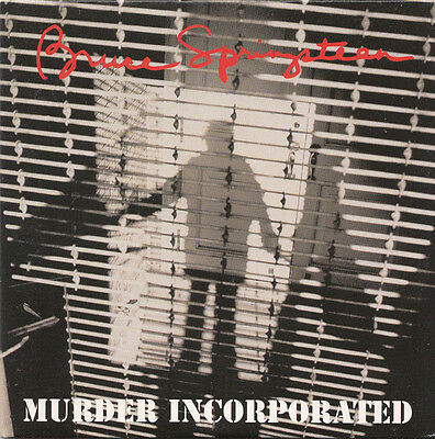 BRUCE SPRINGSTEEN - MURDER INCORPORATED rare 1995 Austrian 2 track CD single