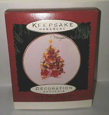 Hallmark Keepsake Ornament Vera The Mouse Collectors Plate Christmas 1995 NEW