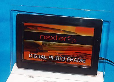 Nextar N7-115 Digital Color Photo Viewing Frame, Power Cable, Instructions