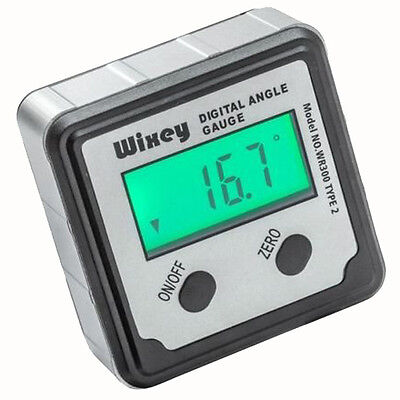 Digital Angle Gauge Electronic Battery Saw Blade Magnetic Level Backlit Display