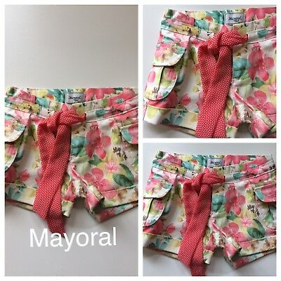 *Girls Clothes/ Beautiful Girls Mayoral  Shorts Age 4 Years*