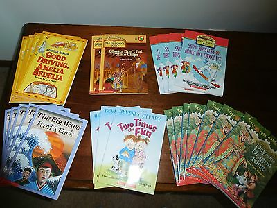 6 Titles of Children Lot (4 Chapter Books) Multiple Same - Great for Daycares