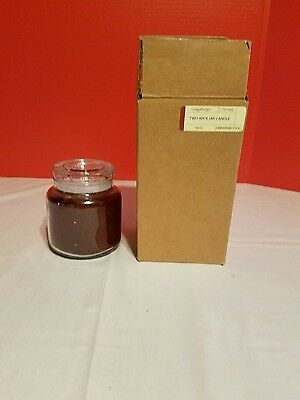 Longaberger 16 Oz Two-Wik Jar Candle Cinnamon Stick