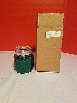 Longaberger 16 Oz Two-Wik Jar Candle Balsam Fir
