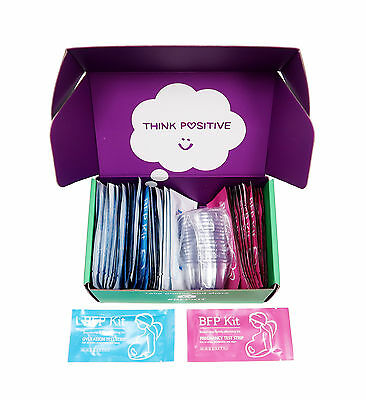 Bundle 50 Ovulation 25 Extra Sensitive Early Pregnancy Test Strips & Bonus Gifts