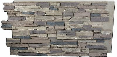 Sample Faux Stone Panel - Grand Heritage - Multiple Colors to choose from