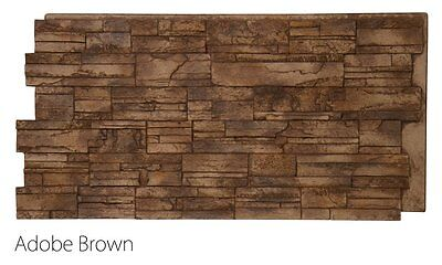 Sample Faux Stone Panel - Tennessee - Multiple Colors to choose from