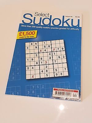 Select Sudoku - [ Over 200 Puzzles! ] - [ A5 Size ] - [ Puzzle Book ]