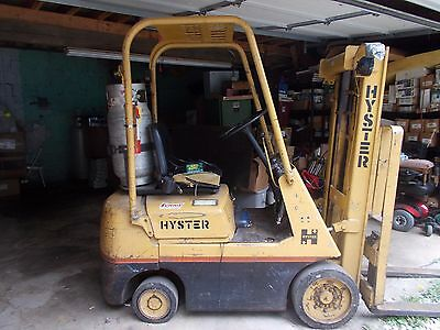 """Hyster Propane Forklift 3000LB S30A Runs Excellent 39""""w 76""""h Forks 42"""" Used"""