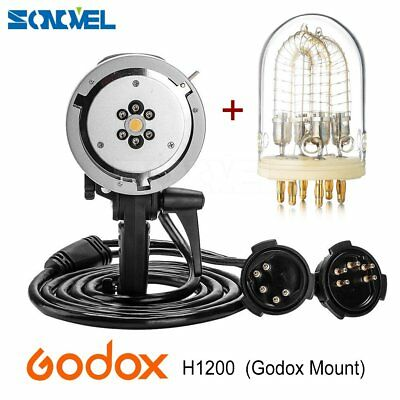 Godox H1200 Godox Mount+1200W Flash Tube for AD600 AD600M  Flash (Godox Mount)