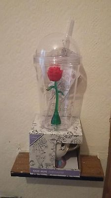 Official Disney Beauty The Beast Enchanted Rose Cup