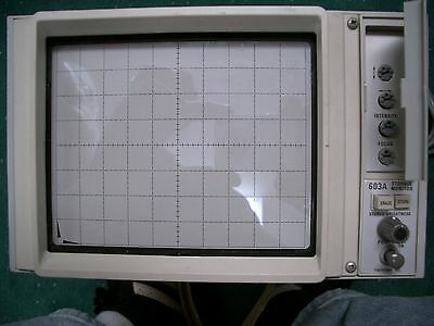 Tektronix TEK 603A X-Y Storage Monitor