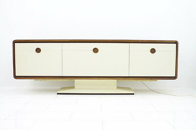 70er Palisander Sideboard mit elektrischer Bar - James Bond 007 modern design