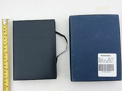Brooks Brothers Address Book new in box Italy leather nwt
