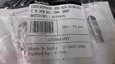 Pack of 20 NEW RAYCHEM ESC-4/A (CON-ED) Heat Shrink End Cable Cap