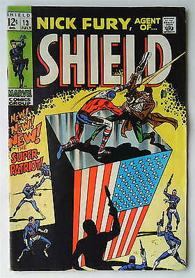 Nick Fury Agent of Shield Vol.1 No.13 July 1969 (FN/FINE) Silver Age (1956-1969)