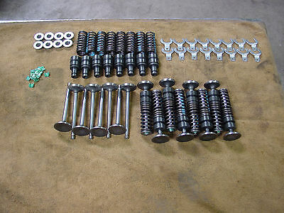 Ford Mercury flathead 221 239 255 new valves guides retainers keepers clips