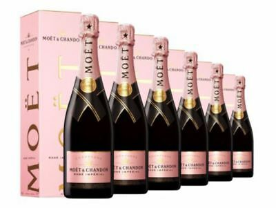 Moet & Chandon Rose Imperial NV Gift Boxed x 6 750ml