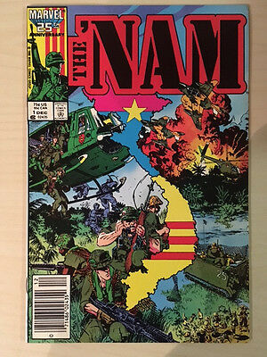 The Nam #1 Dec 1986 Marvel NM First Issue