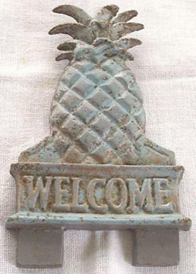 Cast Iron Pineapple Doorknocker Topper Midwest Of Cannon Mills Discontinued Ob