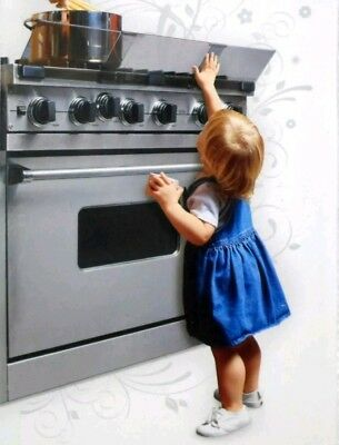 PRINCE LIONHEART Adjustable Stove Guard Child Safety Protects from Burn