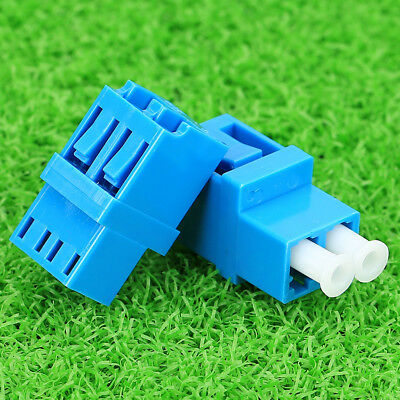 5Pcs  LC-LC LC Duplex Fiber Optic Adapter Optical Duplexer Connector Coupler New