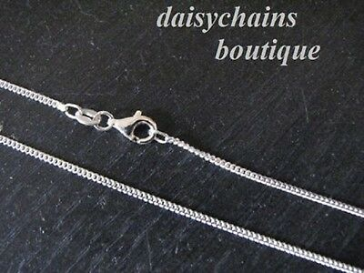 (Promotion Piece) 925 Silver Curb Chain  2Mm .wide,various Lengths.free Bag