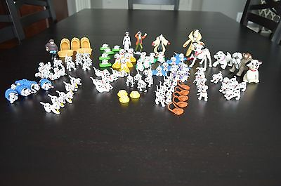 Disney 101 Dalmatians PVC HUGE Lot of toys! Vintage!