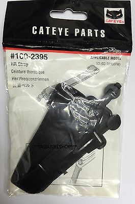 CATEYE HEART RATE STRAP FOR V3 CC-TR300TW BLACK Brand New 160-2395 W