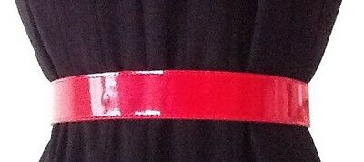 Red Adjustable Belt