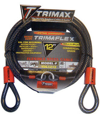 Trimax Trimaflex Dual Loop Multi-Use Cable 15 ft x 10 mm TDL1510