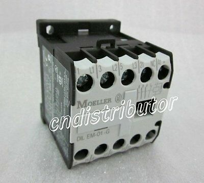 New In Box Moeller Operated Contactor DILEM-01-G, QTY 5 Per Lot,1-Year Warranty!
