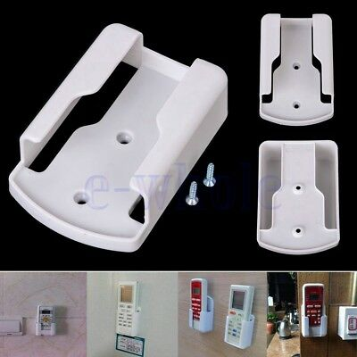 Air Conditioner Remote Control Holder Case Wall Mount Storage Box White TW